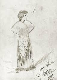 pablo picasso woman malaga 1891