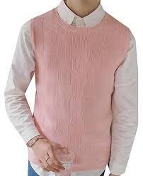 mens xxxl pink sweater
