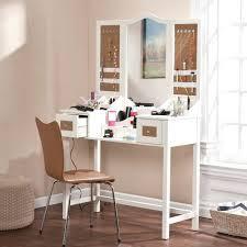 Glass Vanity Table With Mirror Vanities Corner Dressing Table With Mirror Small Makeup Vanity