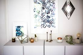 Diy Painting Walls Design Mr Kate Finger Painting Diy Exotic Blue Stripes