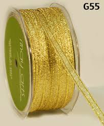 metallic gold ribbon 1 4 inch gold sparkly woven ribbon buy ribbons online