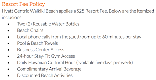 mandatory resort fees are really getting out of control