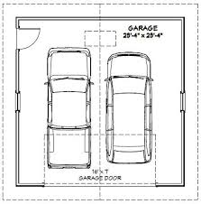 dimensions of a 2 car garage 24x24 2 car garage 24x24g1e 576 sq ft excellent floor plans