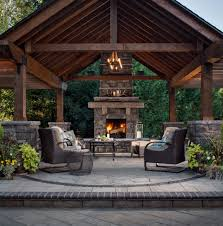 Outdoor Fireplace Chimney Height by 50 Marvelous Rustic Outdoor Fireplace Designs For Your Barbecue