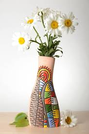 madeheart u003e beautiful handmade ceramic vase homemade clay vase