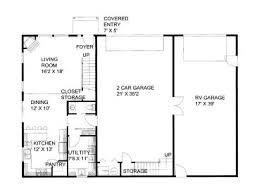 shop floor plans with living quarters plan 012g 0052 garage plans and garage blue prints from the garage