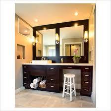 Contemporary Bathroom Sink Units - contemporary bathroom design broken mirror wall stock photo