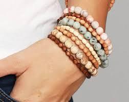 bracelet sets stacked bracelet set etsy