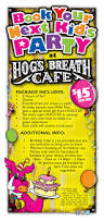party at our place in cleveland hog u0027s breath cafe
