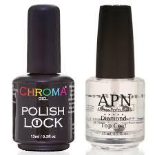 chroma gel polish lock for long lasting nail polish treatments d