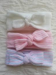 s headbands newborn headbands single or set of 3 mini baby headbands