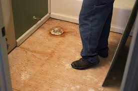 Preparing Bathroom Floor For Tiling How To Remove A Tile Floor How Tos Diy