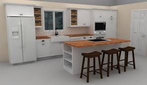 design your own kitchen island this white ikea kitchen island includes a cooktop to provide with