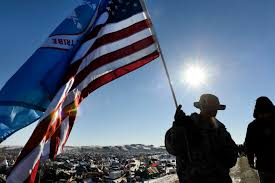State Flag Of North Dakota North Dakota Pipeline Protesters Vow To Stay Despite Victory U2013 The