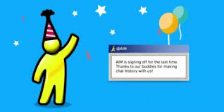 aim aol instant messenger is shutting down in december