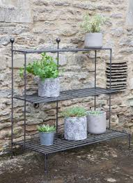 the smart garden the smart barrington plant stand has been finished with a matt