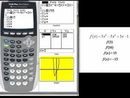 Inputs And Outputs With A Graphing Calculator Youtube