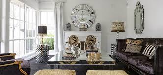 old hollywood glamour living room decor modern interior design