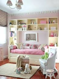 shabby chic room divider open shelving seperates the living a