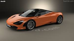 orange mclaren 720s 360 view of mclaren 720s 2017 3d model hum3d store