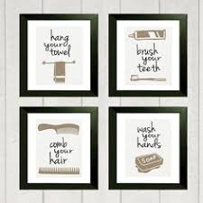 bathroom artwork ideas printable bathroom wall from the crown prints on etsy lots