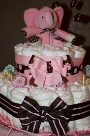 simply made with brown u0026 pink baby shower