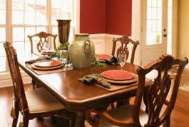 Yew Dining Table And Chairs How To Remove The Cloudy Finish On A Dining Room Table Home