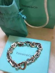 tiffany heart bracelet sterling silver images Tiffany co sterling silver and 18k gold heart bracelet i do JPG