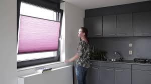 Duette Blinds Cost Luxaflex Duette Shades For Tilt U0026 Turn Window Youtube