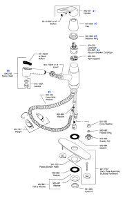 kohler kitchen faucet parts diagram kitchen faucet replacement parts kitchen design