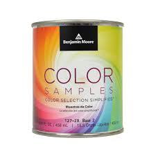 benjamin moore color samples base 2 paint 1 pint