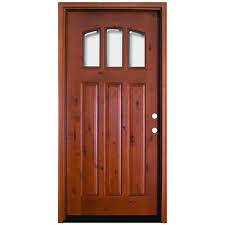 exterior prehung doors with glass wood doors the home depot