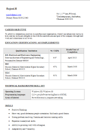 best ideas of sample resume for diploma electrical engineer for