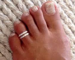 male toe rings images Toe rings etsy jpg