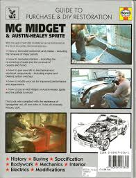 mg midget and austin healey sprite guide to purchase and diy