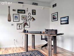 Decorators White Benjamin Moore Before U0026 After U0027s Bedroom Turned Office U2013 Design Sponge