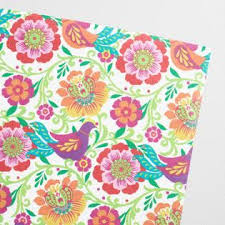 flower wrapping paper wrapping paper gift wrap rolls world market