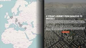 Border Patrol Checkpoints Map A Refugee U0027s Tale One Syrian U0027s Journey To Brussels U2013 Politico