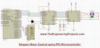 stepper motor control using pic microcontroller the engineering
