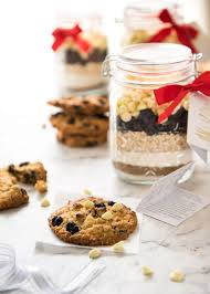 cookie mix in a jar white chocolate cranberry cookies recipe