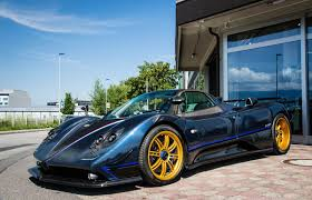 blue pagani pagani zonda tricolore on a quest for the best