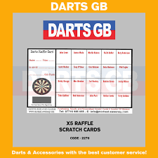 best scratch cards dartsgb x 5 raffle dart scratch cards