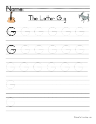letter g handwriting practice handwriting practice language
