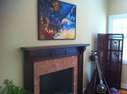 interior delectable design ideas using black fireplace mantels