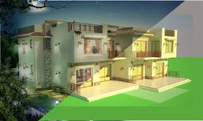 compositing a 3d architectural rendering using photoshop u0026 3ds max