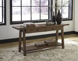 Sofa Tables With Drawers by Dondie Rustic Brown Sofa Table T863 4 Sofa Tables Glass
