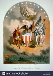 American Flag Words Arms Of The United States Of America An Elaborate Martial