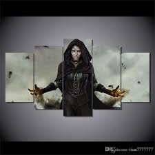 Canvas Home Decor 2017 The Witcher Woman Painting On Canvas Home Decor Gifts Modern