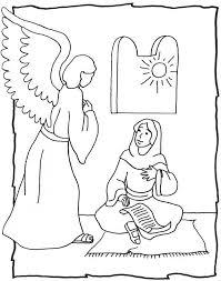 angel gabriel coloring page funycoloring