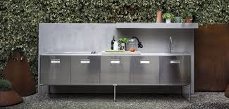 outdoor island kitchen contemporary kitchen stainless steel island outdoor